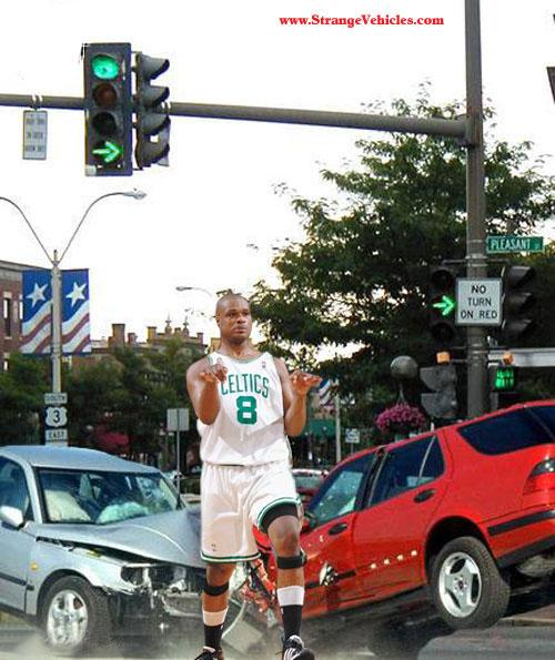 LOLNBA-Antoine-Walker-Caught-In-Traffic