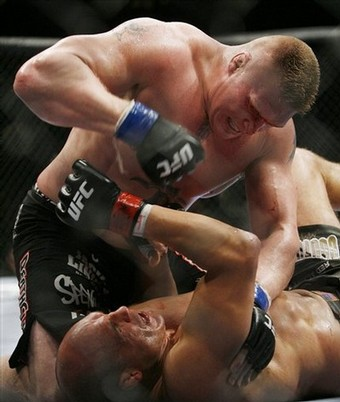 UFC 91 Brock Lesnar Vs Randy Couture