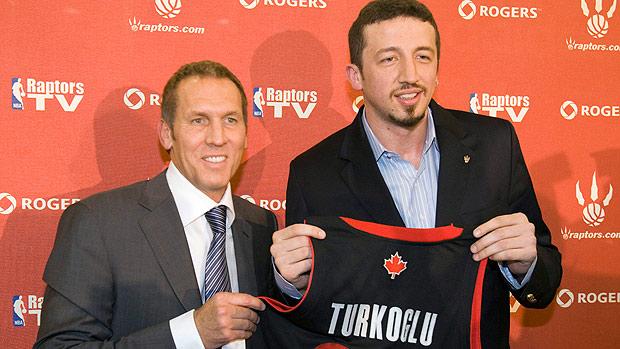 Bryan Colangelo and Hedo Turkoglu: Toronto Raptors